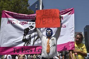 Sopir Taksi Usir Uber