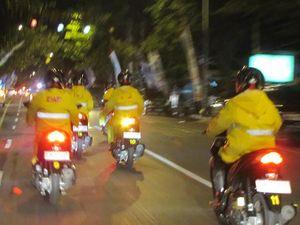 Tiba di Banyuwangi, Smart Rider Sempat Dihadang Hujan
