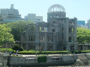 Korban Bom Atom Hiroshima yang Masih Berdiri