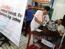 Honda Gelar Uji Kompetensi Teknik Siswa SMK