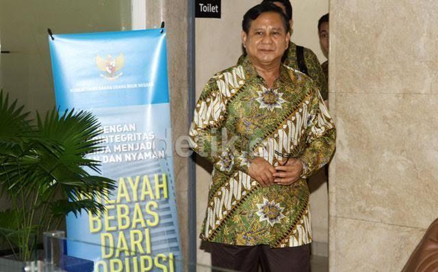 Datangi Kantor Rini Soemarno, Prabowo: BUMN Tak Boleh Dijual ke Asing