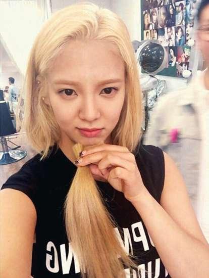 Hyoyeon 'SNSD' Berambut Pendek, Cantik Nggak SONE?
