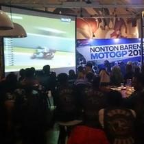 Seru-seruan di Nobar MotoGP bersama Yamaha-Detiksport di Bandung