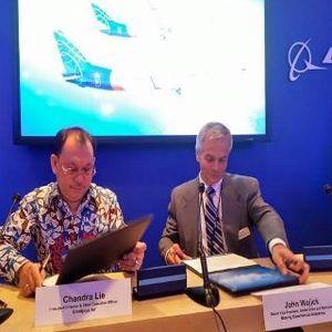 Sriwijaya Air Belanja 2 Boeing 737-900 ER di Paris Air Show
