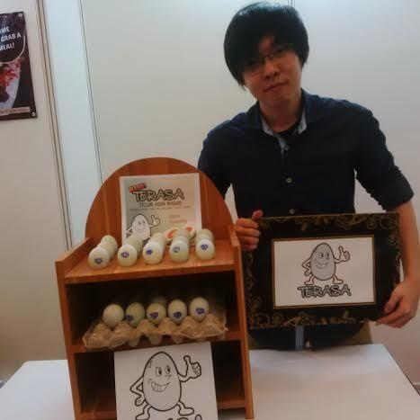 Telur Bebek Bisa Berasa Udang di Tangan Kreatif Anak Muda Ini
