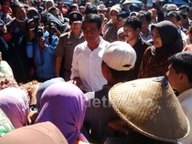 Mentan Sidak Pasar Bawang di Probolinggo