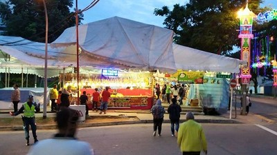 Ramadan di Singapura, Ada Bazaar Kuliner di Geylang