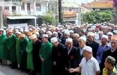 Idul Fitri di Tiongkok, Seperti Ini Ramainya