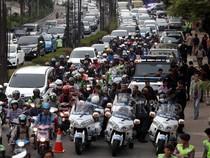 Jokowi Buka di KPK, Kuningan Macet