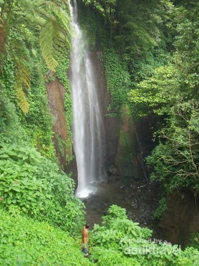 Yang Segar Habis Lebaran, Main Air Terjun di Bogor (2)