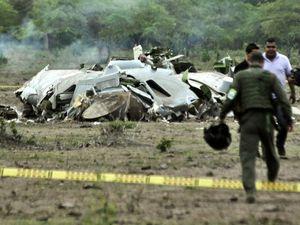 Pesawat Militer Kolombia Jatuh