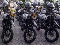 Ahok Serahkan 326 Motor untuk Kodam Jaya