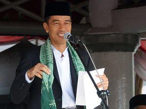 Jokowi Resmikan Peringatan 100 Tahun Mathlaul Anwar