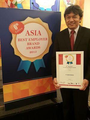 Citilink Raih Penghargaan Asia Best Employer Brand di Singapura