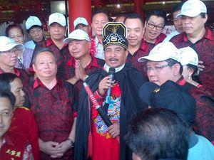 Berkostum Kaisar Ming, Menpar Resmikan Jalur Wisata Cheng Ho