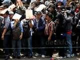 Ribuan Orang Daftar Jadi Go-Jek di Senayan