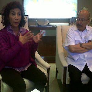 Ancaman Menteri Susi ke Pemilik Kapal Maling Ikan Asal Thailand