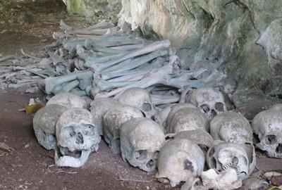 Misteri Gua Penuh Tengkorak di Kepulauan Talaud