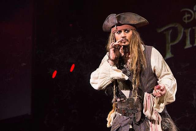 Jack Sparrow hingga Captain America di D23 Expo 2015