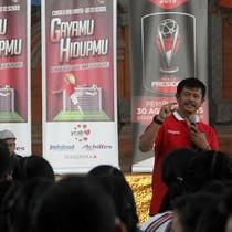 Keliling Sekolah, Bali United Gelar Program Sosial ke Anak Muda