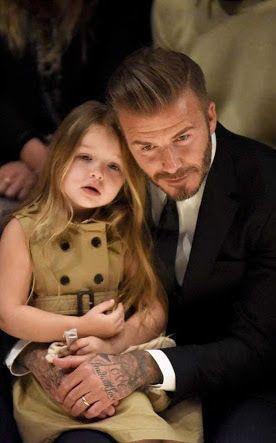 Baru 4 Tahun, Harper Beckham Lakukan Manikur dan Pedikur