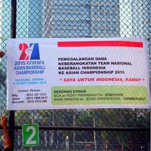Tak Diperhatikan, Atlet Baseball Galang Dana untuk Ikut Turnamen di Taiwan