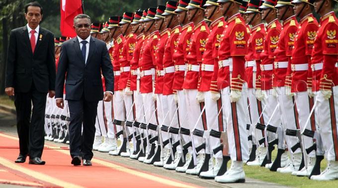 Jokowi Terima PM Timor Leste Rui Maria De Araujo