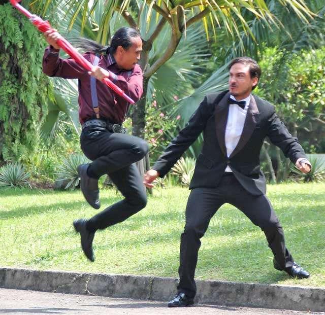Yayan Ruhiyan Sampai Dian Sastro Adu Jotos di Film 'Gangster'