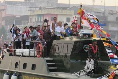 Mengenang Karnaval Air Paling Heboh di Kalimantan Barat