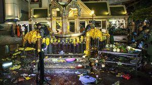 Hancur Akibat Ledakan Bom, Kuil Erawan Bangkok Mulai Diperbaiki