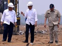 Jokowi Pantau Pembangunan Tol Trans Sumatera