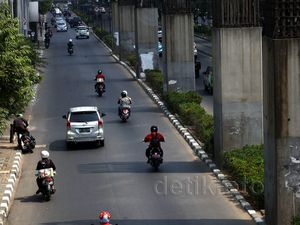 Tiang Monorel Akan Digunakan LRT