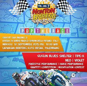 TRANS7 Gelar Nobar MotoGP San Marino di Palembang