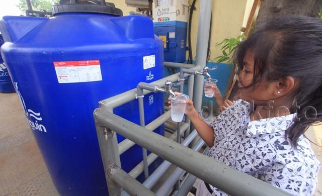 Instalasi Filter Air Siap Minum di Bidaracina