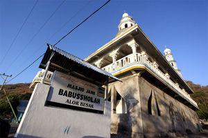 Penampakan Masjid Tertua di Alor