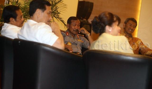 Kapolri Hingga Ketua KPK Kumpul Bareng Pengusaha