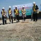 Risma Groundbreaking Proyek Akses Jalan ke Teluk Lamong