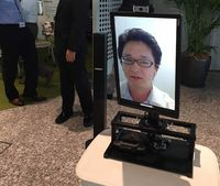 Fuji Xerox Pamer Robot Video Conference