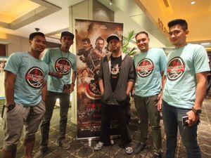 Atlet Pun Ikutan Nobar Film 3 (Alif Lam Mim)