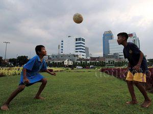 Minimnya Lahan Bermain Anak di Jakarta