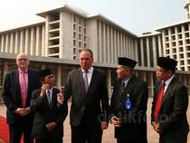 Menteri Pertanian Australia Kunjungi Istiqlal dan Katedral