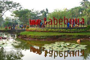 Taman Tabebuya, Oasis di Selatan Jakarta