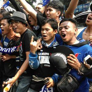 Tiba Bareng Ridwan Kamil, Rombongan Bobotoh Digeledah Polisi