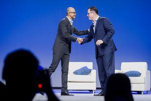 Bos Microsoft dan Dell Tampil Satu Panggung