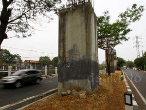 Tiang Monorel Akan Digunakan untuk LRT