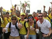 Ekspresi Mereka Yang Meramaikan MotoGP