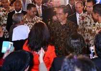 Jokowi Temui WNI di AS