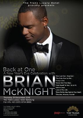 Tahun Baru Mewah Bareng Brian McKnight Mulai Rp 18 Juta