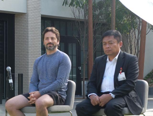 Sergey Brin & Ririek Adriansyah (ash/inet)