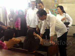 Jokowi Blusukan di Palangkaraya